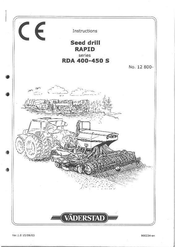 how to draw a seed drill