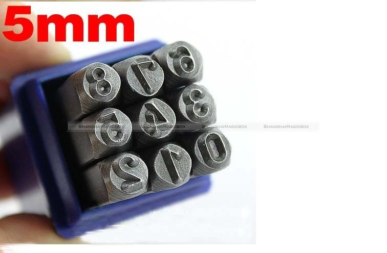 Hand Metal Marking Stamps Uppercase Punches Letters