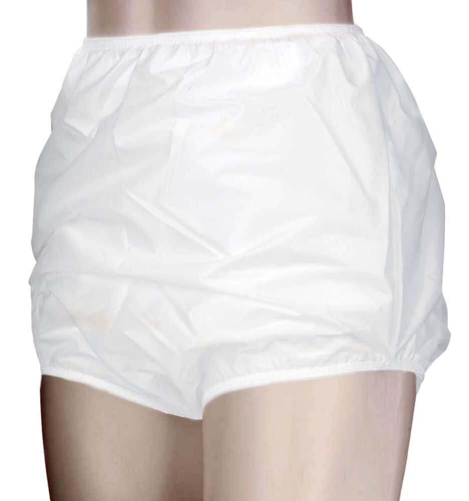 Unisex Adult Waterproof 100 Nylon Incontinence Knickers
