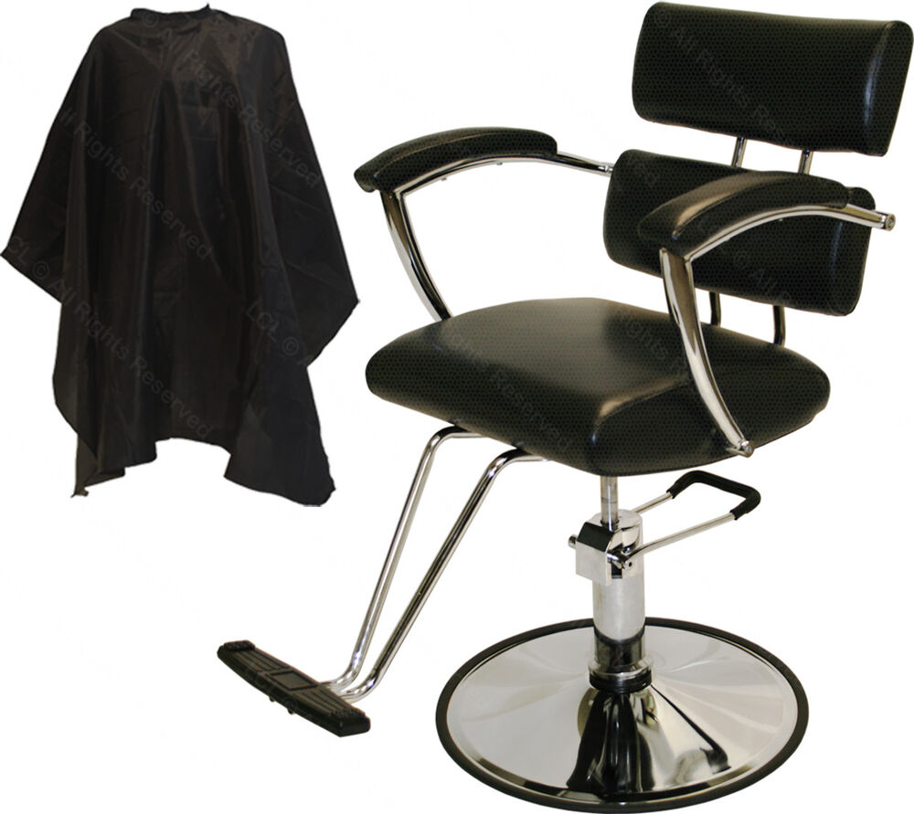 Padded arms professional hydraulic barber chair styling for Accessories for beauty salon