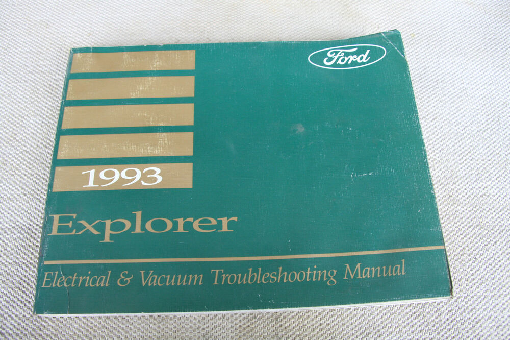 1995 Ford Explorer Electrical And Vacuum Troubleshooting Wiring Diagrams
