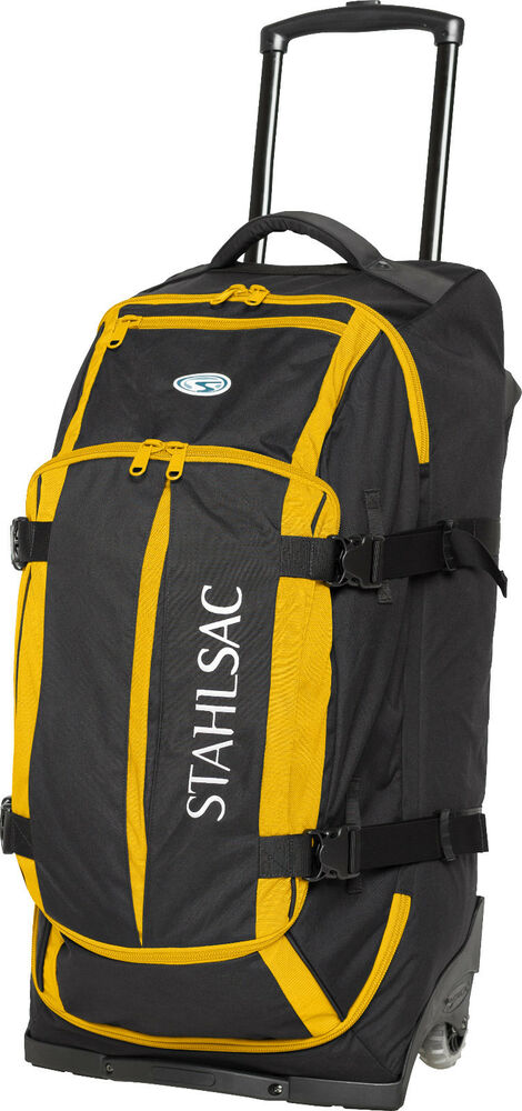 Stahlsac curacao clipper pack wheeled scuba diving roller for Dive gear bag