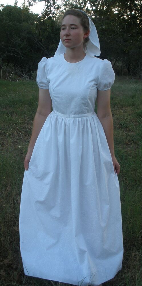 Custom Made To Order Modest Wedding Dress Formal Old Fashioned High Neck More Ebay