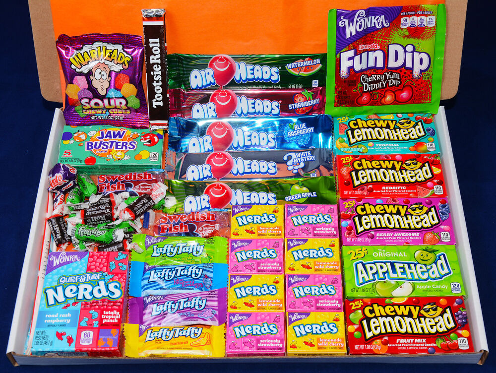 Chocolate Gift Boxes Usa : American sweets gift box items usa candy hamper