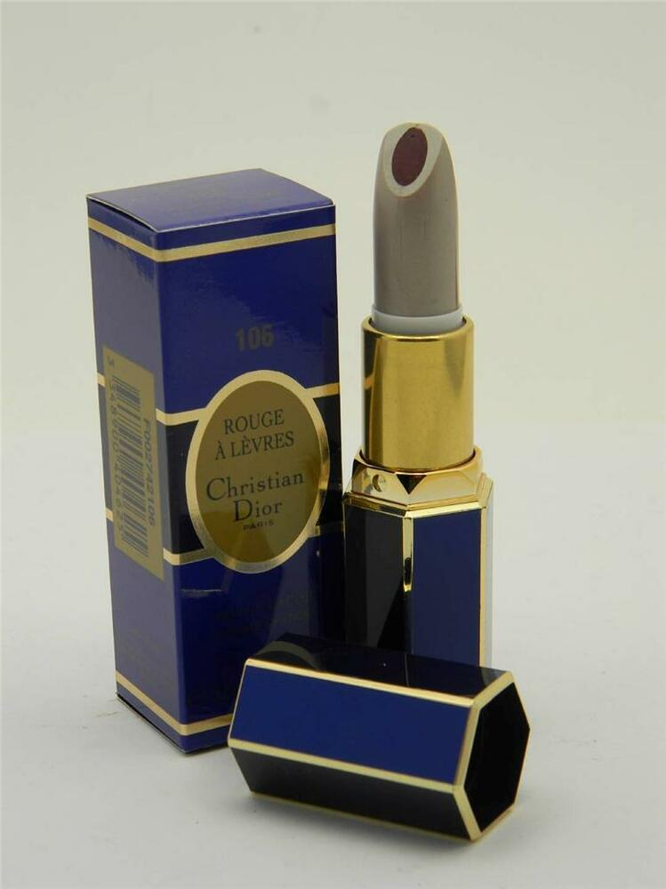 christian dior rouge a levres double lipstick 106 heart of plum ebay. Black Bedroom Furniture Sets. Home Design Ideas