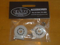 Elite Greenhouses Door Wheel replacement kits - 32mm