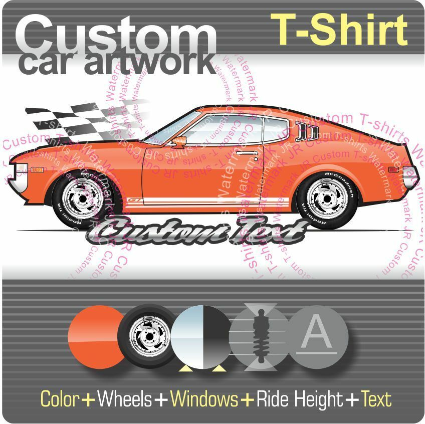Toyota Celica Coupe 1600 Gt: Custom T-shirt For 73-76 77 Toyota Celica GT ST 1600 2000