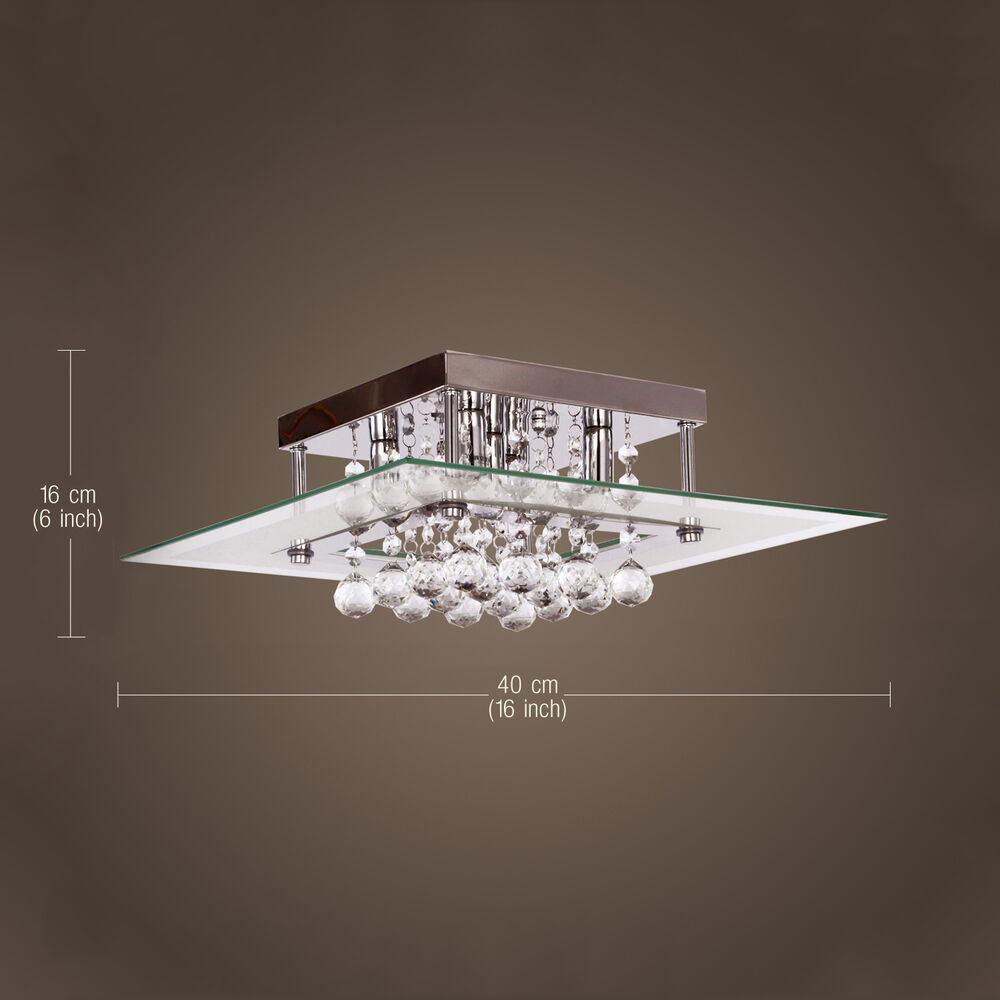 Modern crystal ceiling light pendant lamp fixture lighting for Modern chandelier lighting fixtures