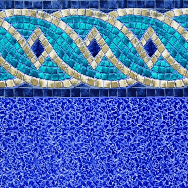 Riviera Beaded Above Ground Pool Liner All Sizes