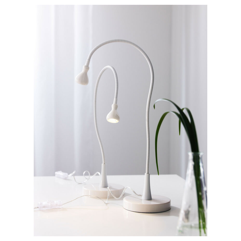 ikea jansjo led table desk study lamp work light black or. Black Bedroom Furniture Sets. Home Design Ideas