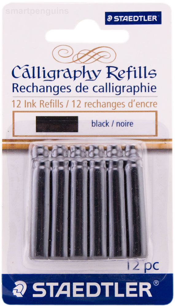 Staedtler Calligraphy Fountain Ink Pen Black Refills Ebay