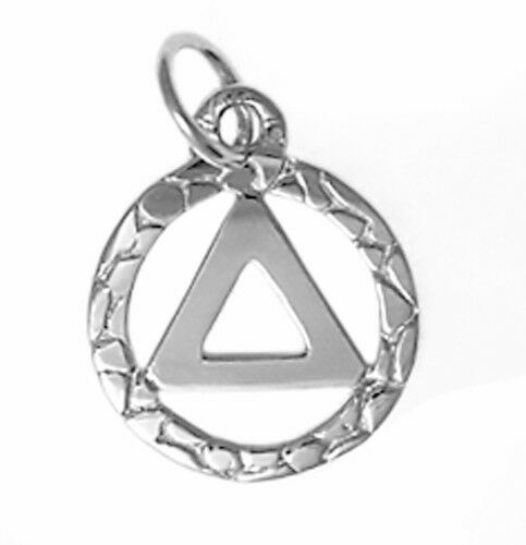 aa alcoholics anonymous jewelry ster small circle 524 ebay