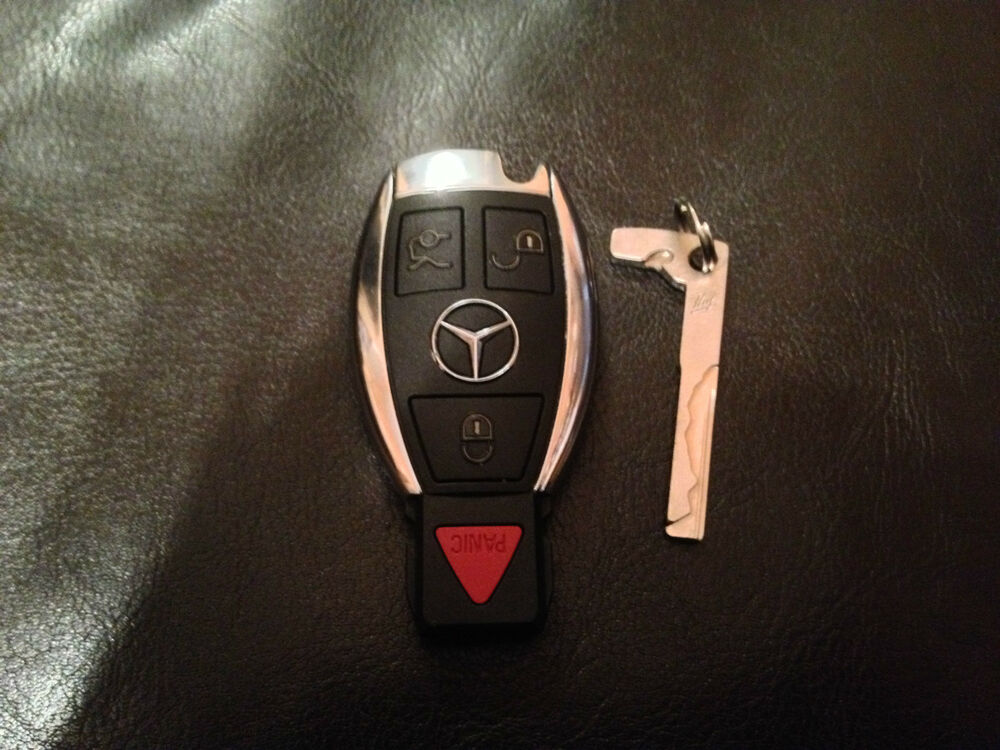 Fcc id iyzdc07 oem mercedes benz 4 button smart key less for Mercedes benz key fob