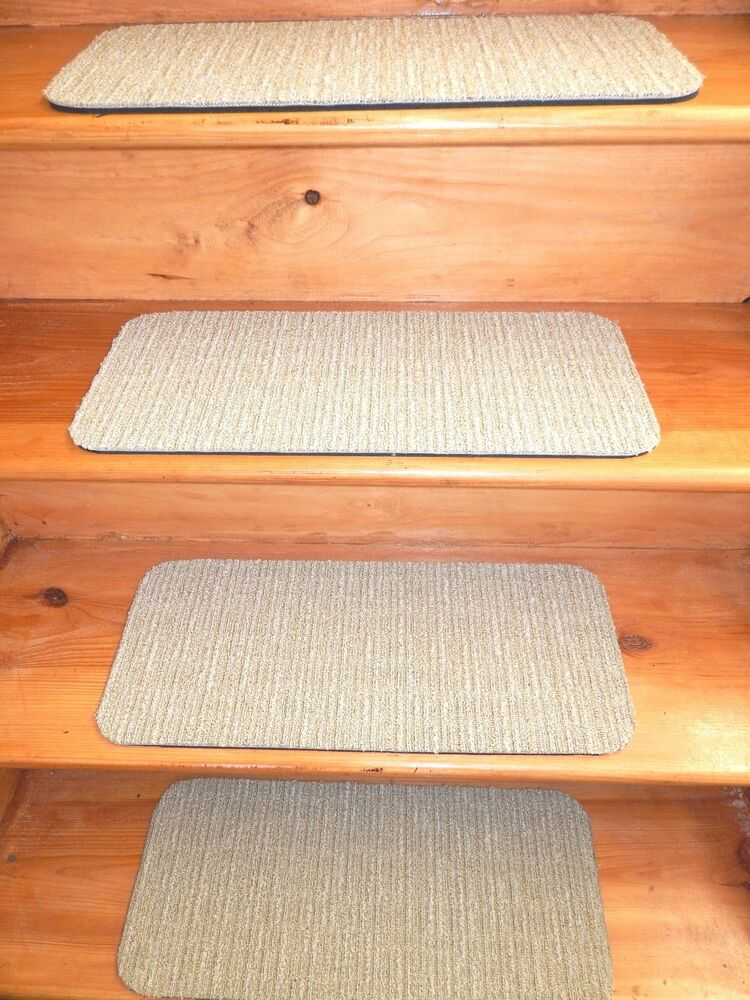13 Indoor Outdoor Stair Treads Non Slip Staircase Step Rug Carpet Choose Size Ebay