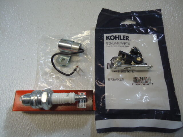 kohler k spark wiring all about repair and wiring collections kohler k spark wiring new oem kohler points condenser h10c spark plug k181 k241 k301