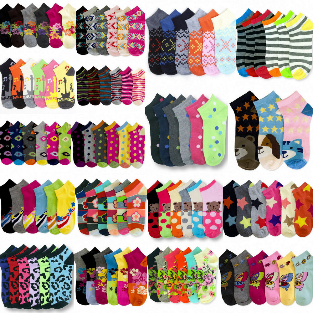 Wholesale Bulk Socks Lot Womens Size 9-11 Mixed Assorted ...