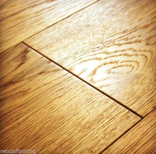 Solid oak flooring smoked white washed wood floor wide for Real solid wood flooring