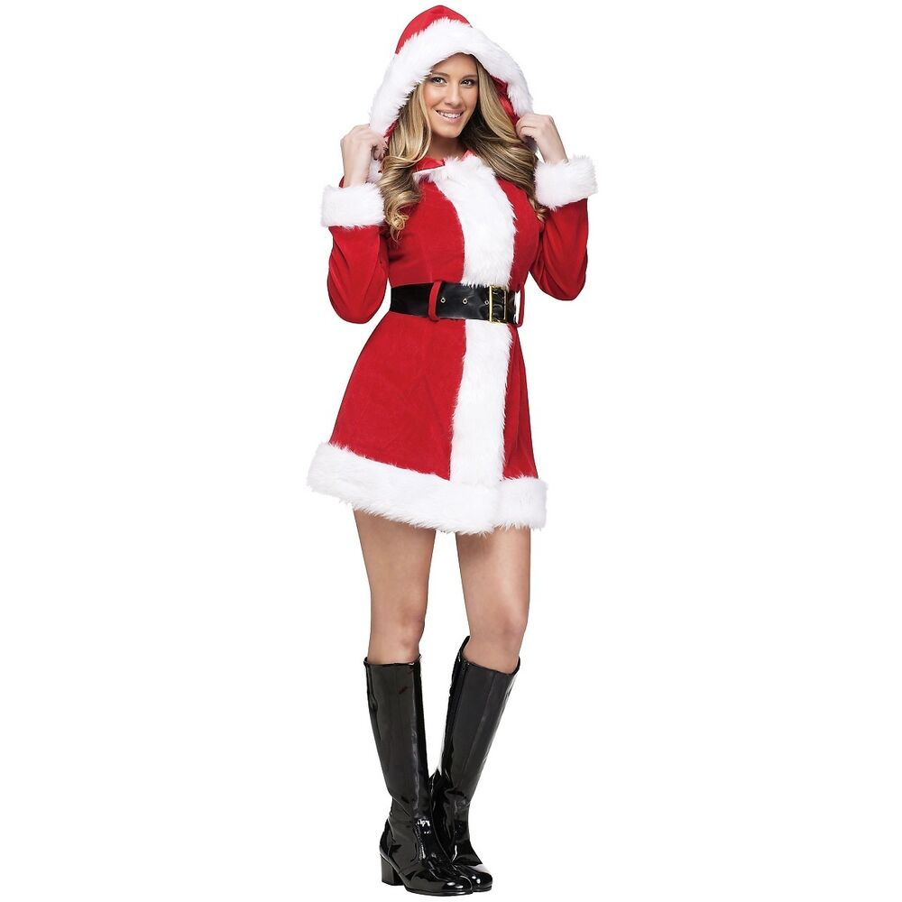 Mrs claus costume sexy santa outfit for women adult christmas fancy
