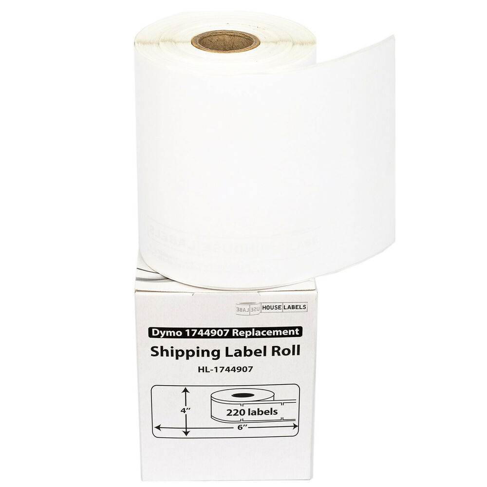 2 rolls 220 dymo 4x6 direct thermal shipping labels 4xl for Dymo 4x6 labels