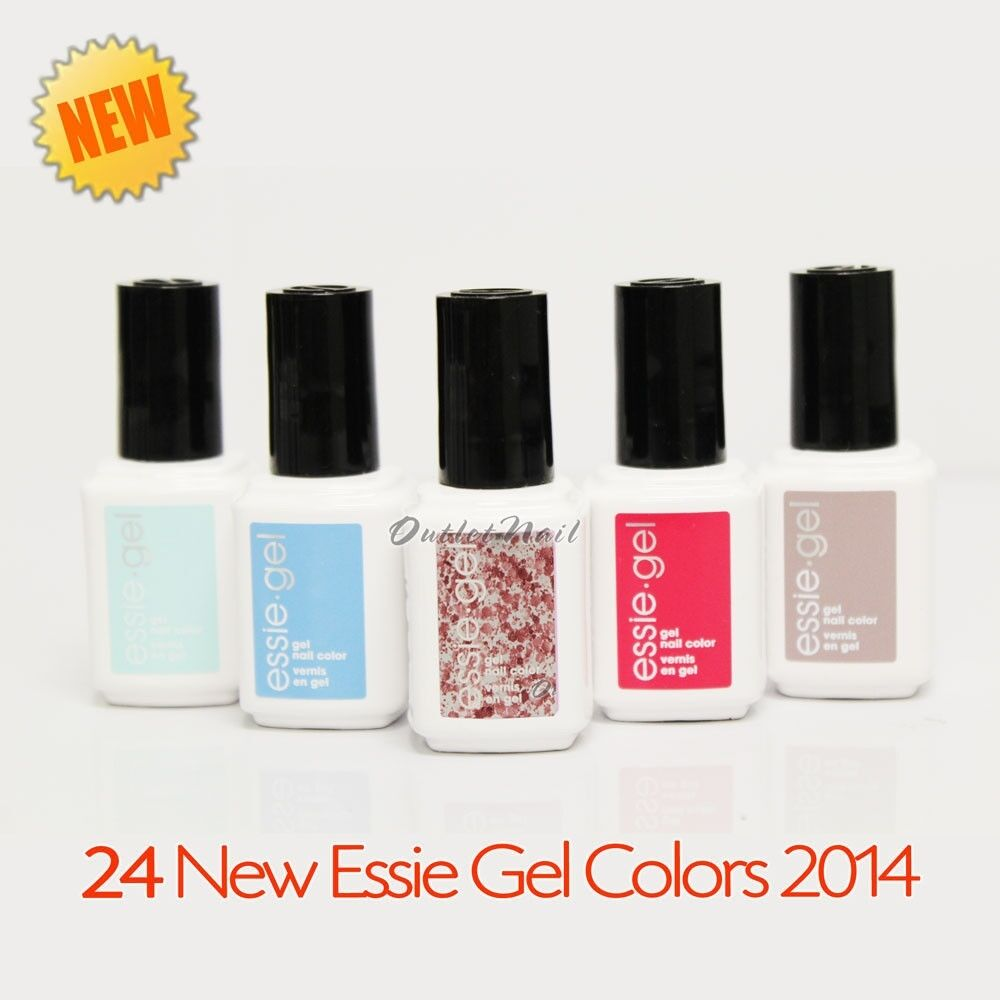 24 NEW ESSIE Gel Nail Colors 2014 Lot Kit Set 12.5mL From 5037 To ...