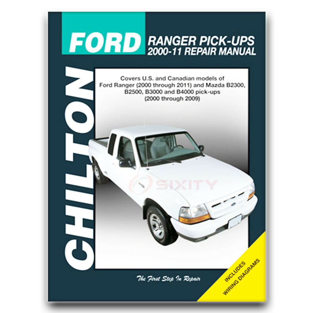 ford ranger chilton repair manual fx4 stx edge xlt sport. Black Bedroom Furniture Sets. Home Design Ideas