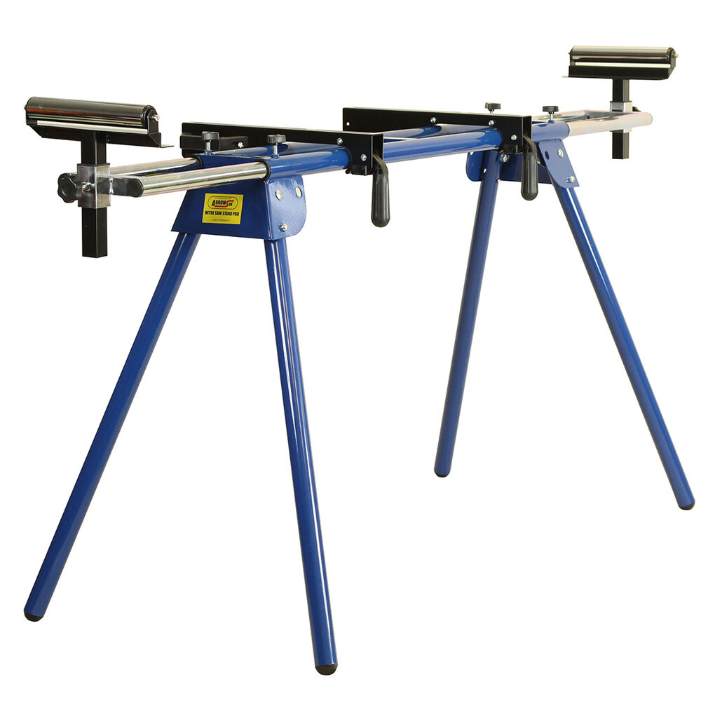 Heavy Duty Mitre Saw Stand Compact Work Station Miter Chop
