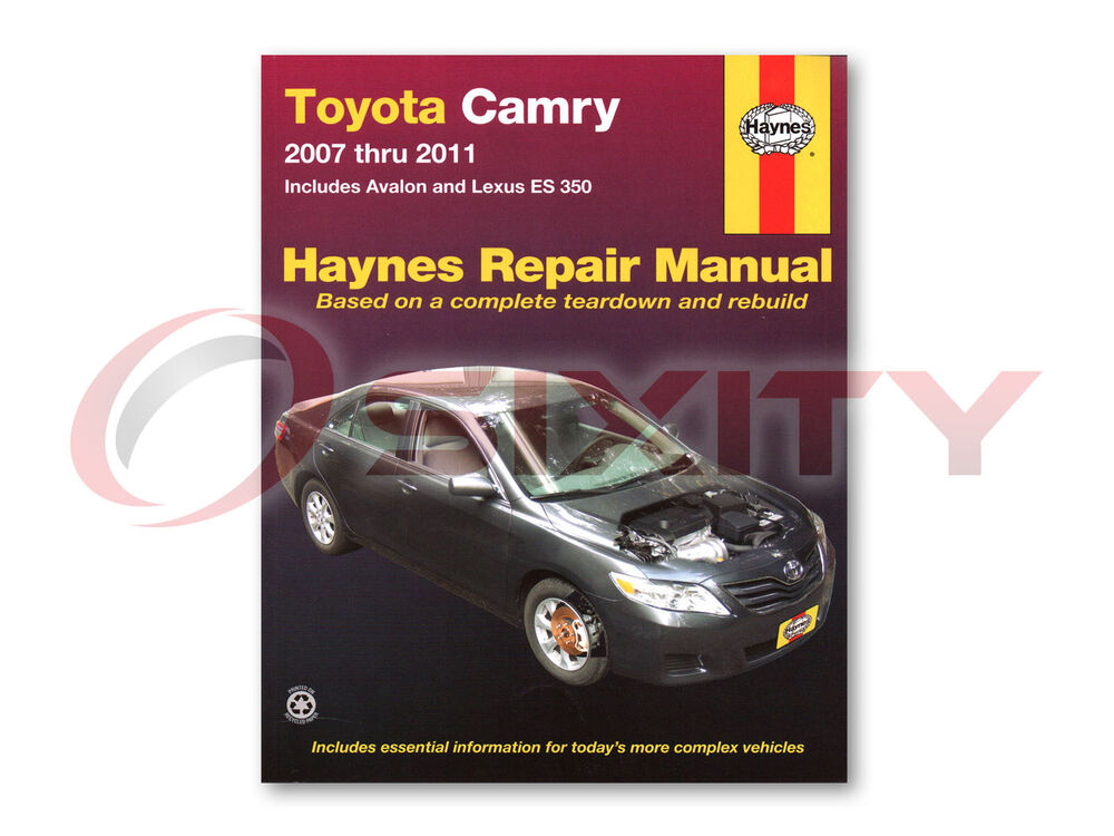 Toyota Camry Haynes Repair Manual Le Base Ce Xle Se Shop