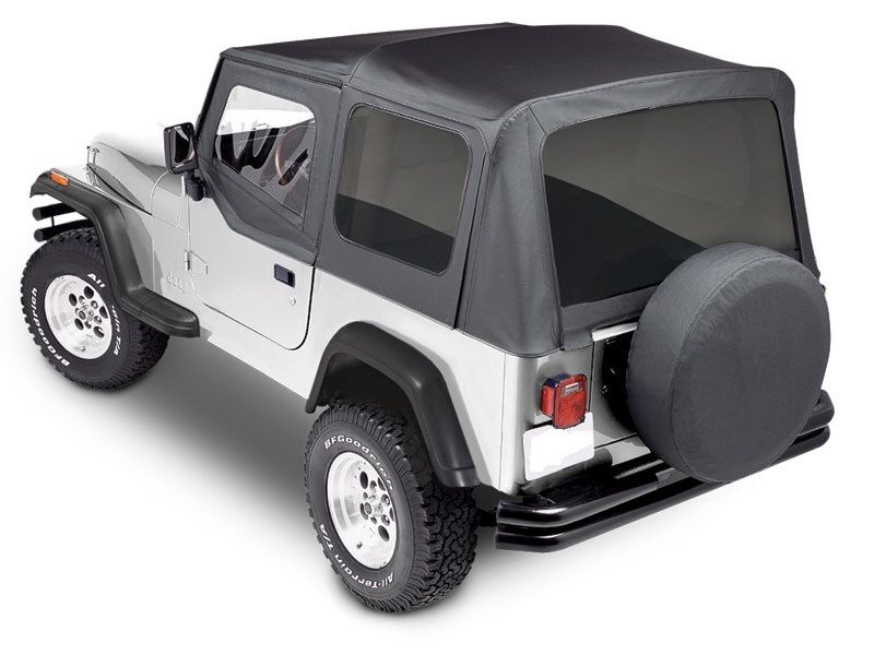 Premium Replacement Soft Top Kit For 1988 1995 Jeep