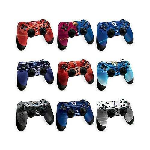 Playstation 4 OFFICIAL Controller Football Team Skin PS4