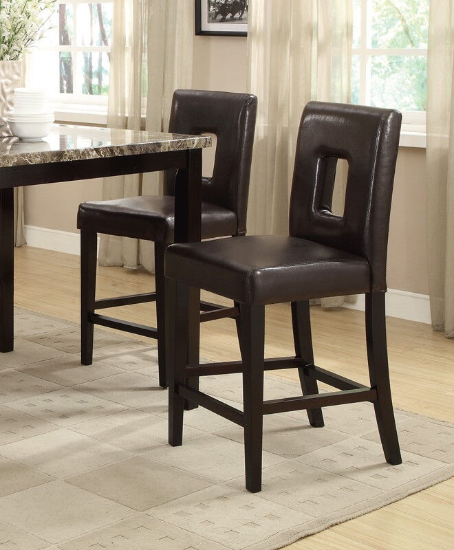 counter height dining chairs 2pcs set dining room furniture in 2