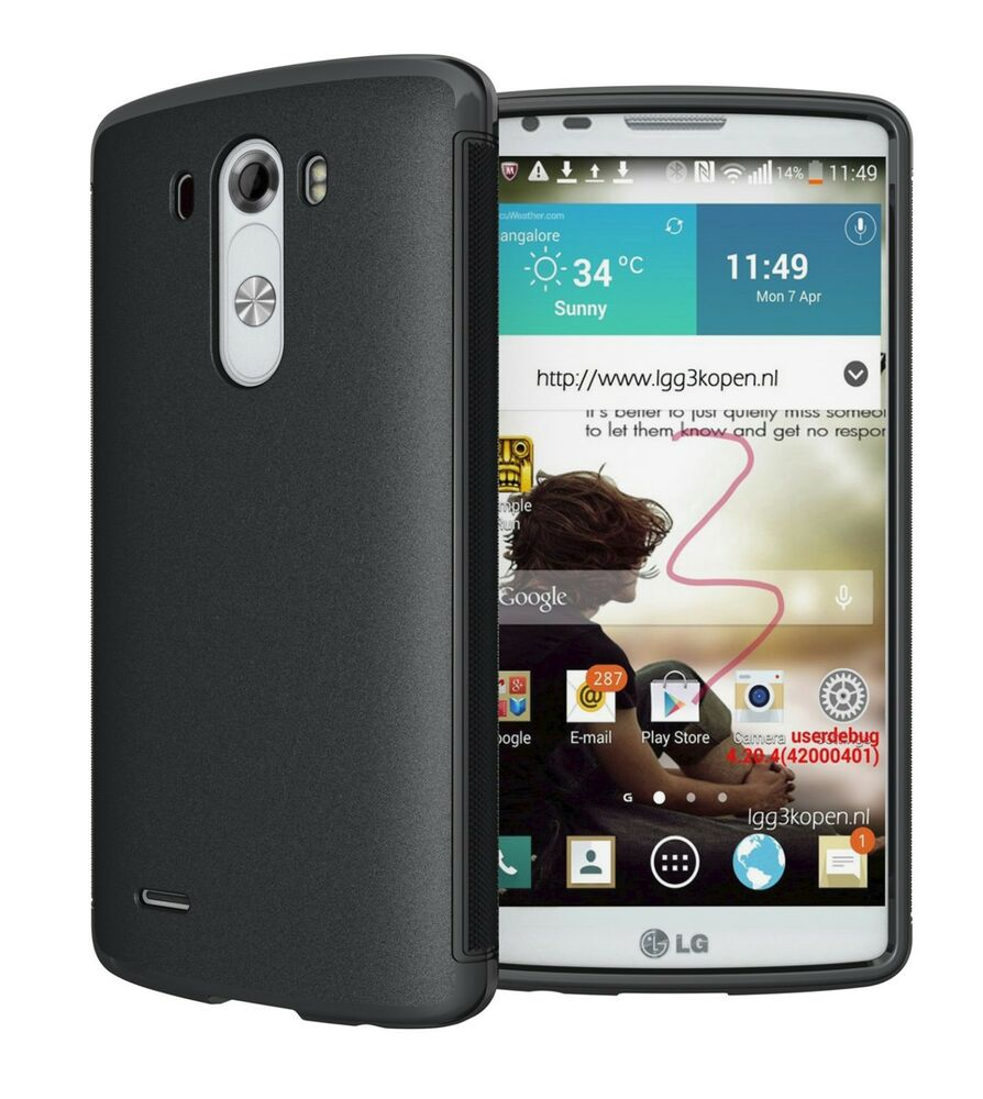 hyperion matte tpu protective case cover for lg optimus