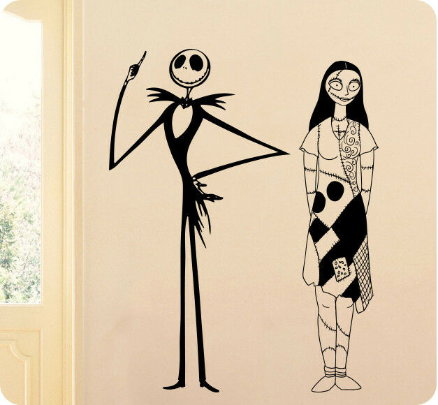 jack and sally skellington the nightmare before christmas