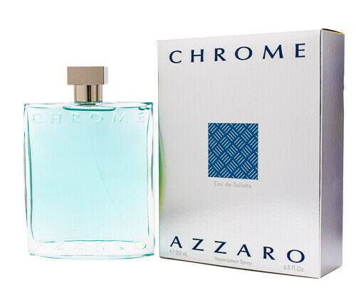 Chrome azzaro cologne for men 6 7 6 8 oz brand for Chrome azzaro perfume