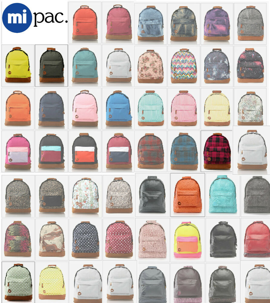 mi pac backpacks mi pac school bag mi pac 17l rucksack. Black Bedroom Furniture Sets. Home Design Ideas