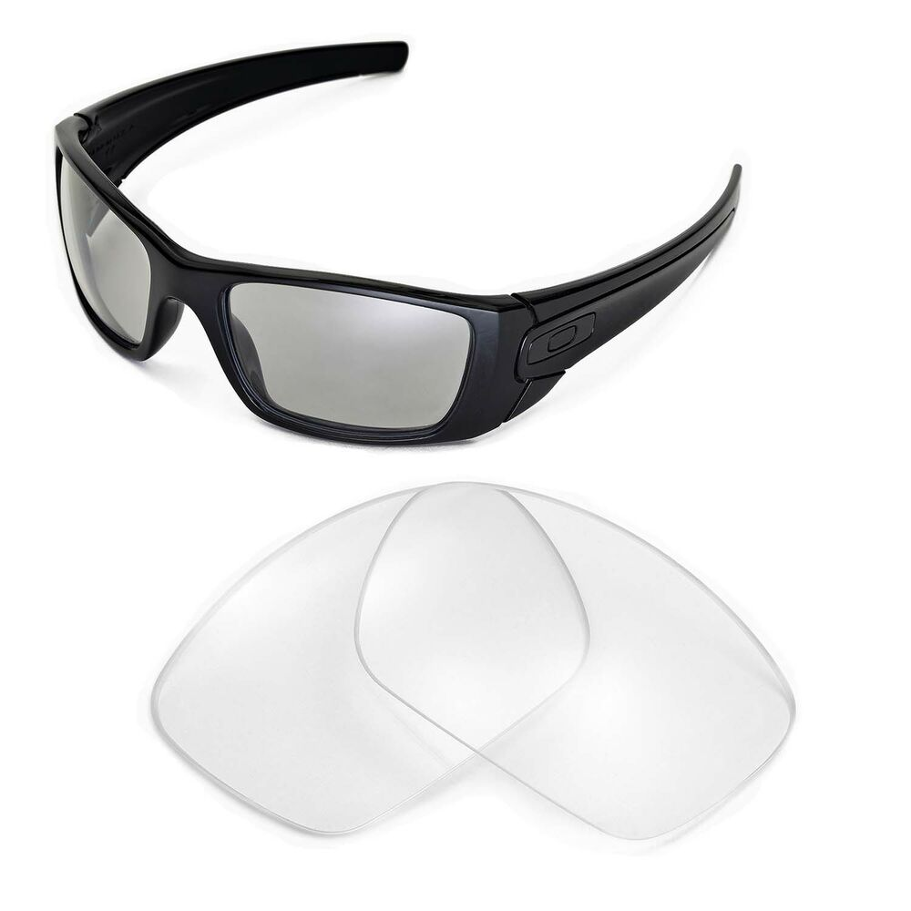 New Walleva Clear Replacement Lenses For Oakley Fuel Cell