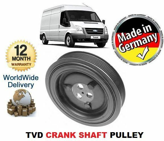 FOR FORD TRANSIT 2.4 TDCi & VAN BUS CHASSIS 2006--> TVD