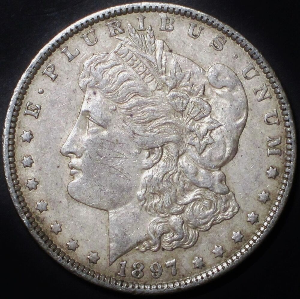 1897 O Morgan Silver Dollar Key Date Choice Au About Unc