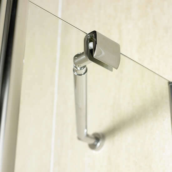 Shower Bath Screen Corner Support Wall Tie Bar For 6mm