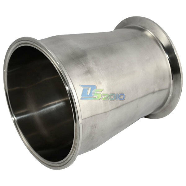 """Mm to quot """" sanitary ferrule reducer fitting"""