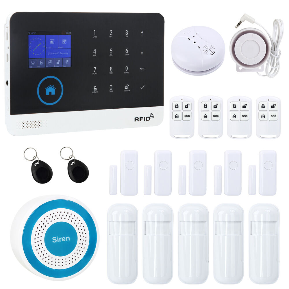 wireless gsm alarm burglar alarms home best security