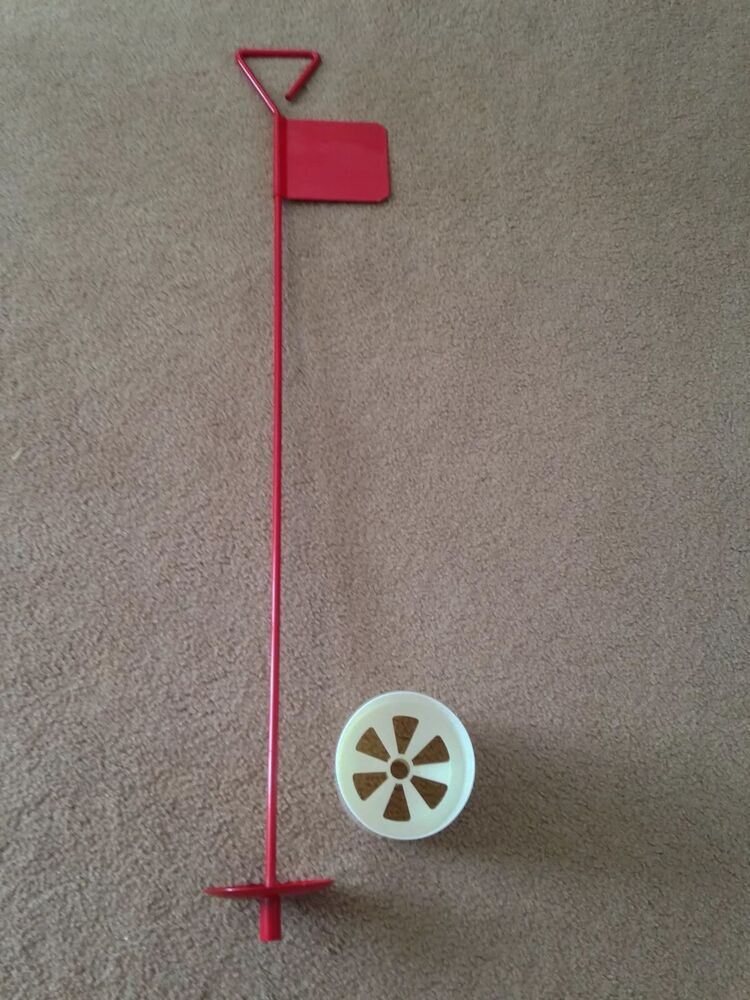 3 X Metal Professional Jl Golf Putting Green Flag And Hole
