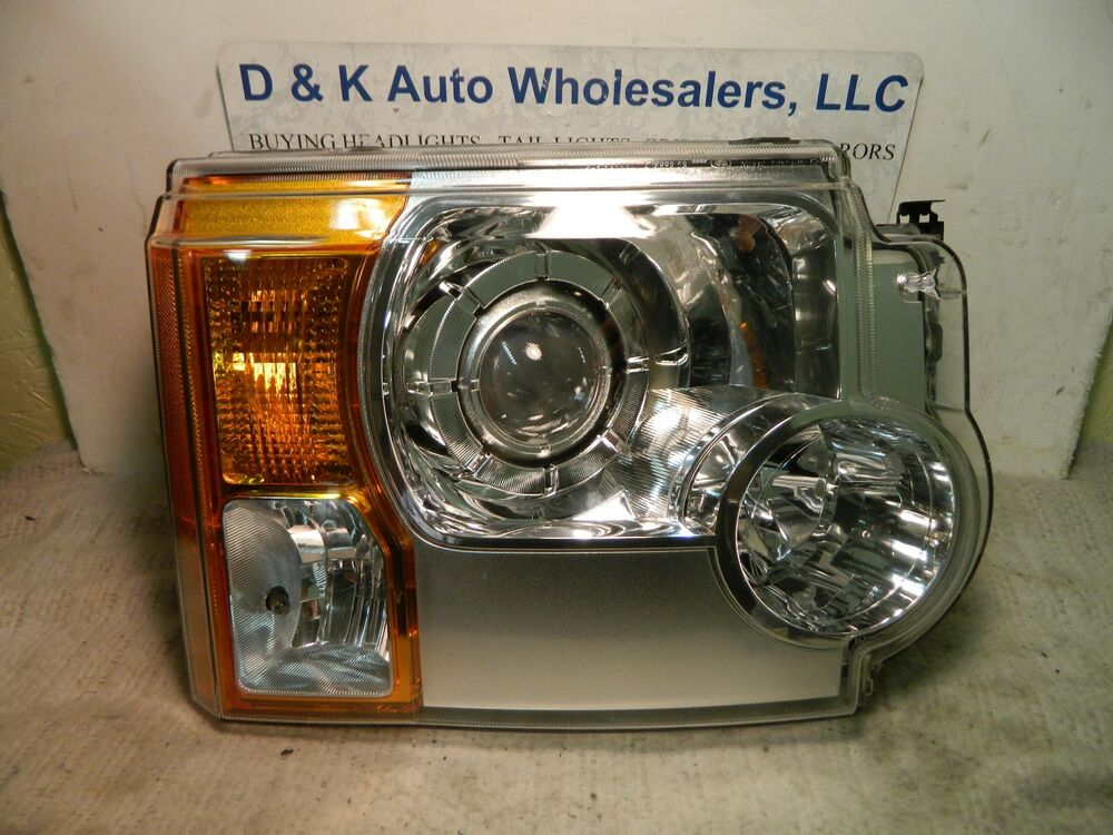 land rover lr3 2005 2009 right pass headlight xenon hid. Black Bedroom Furniture Sets. Home Design Ideas
