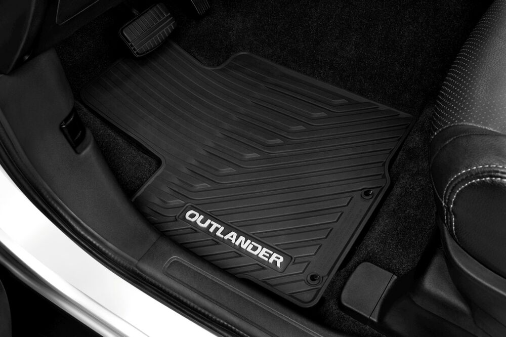 Mitsubishi Outlander 2014 Oem All Weather Floor Mats