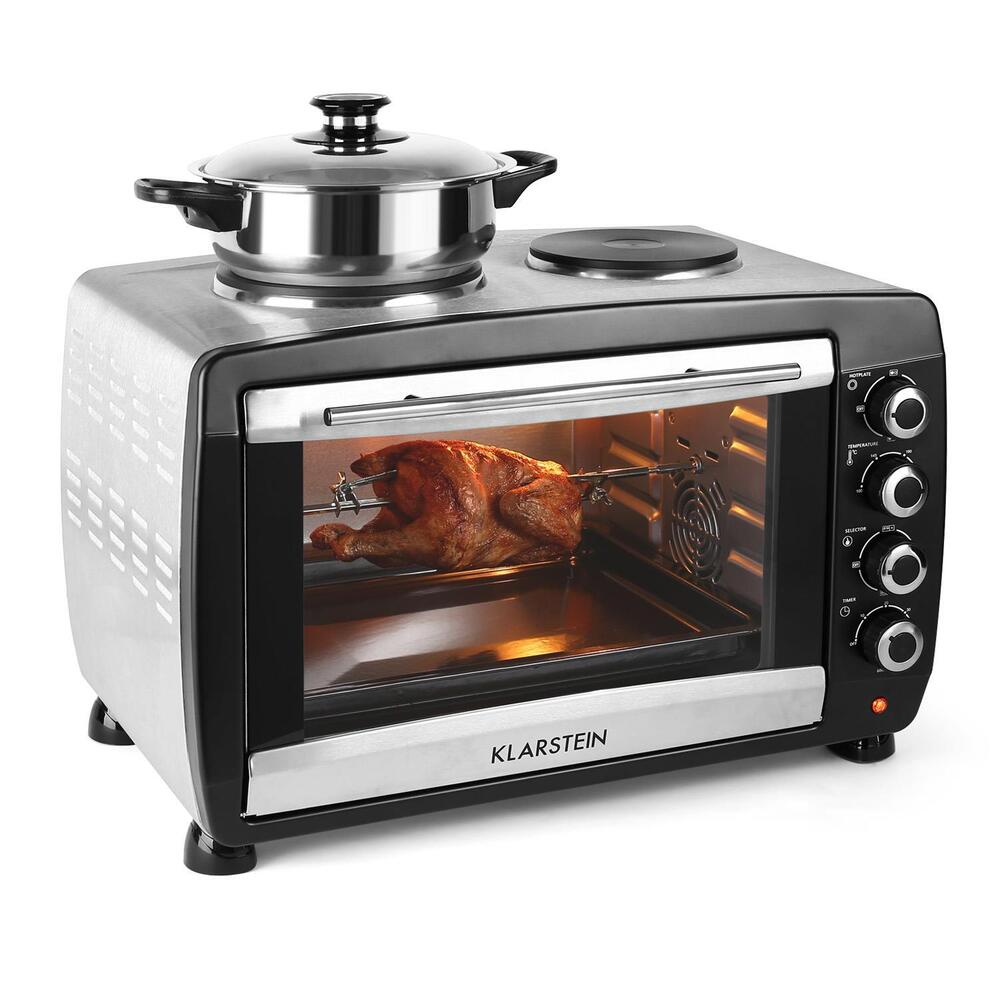 Countertop Convection Oven With Burners On Top : MINI CONVECTION OVEN HOB COOKER COUNTER TOP ROTISSERIE OVENS * FREE UK ...
