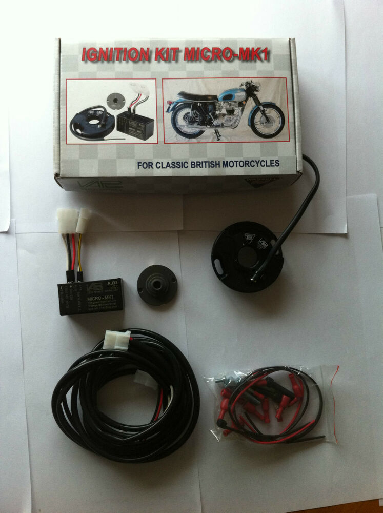 Triumph Tiger Cub Electronic Ignition 12v