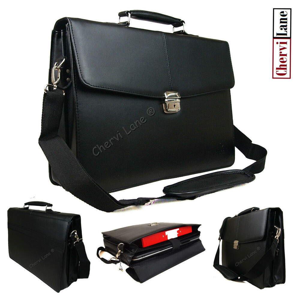 High Quality Mens New Faux Leather Business Laptop ...