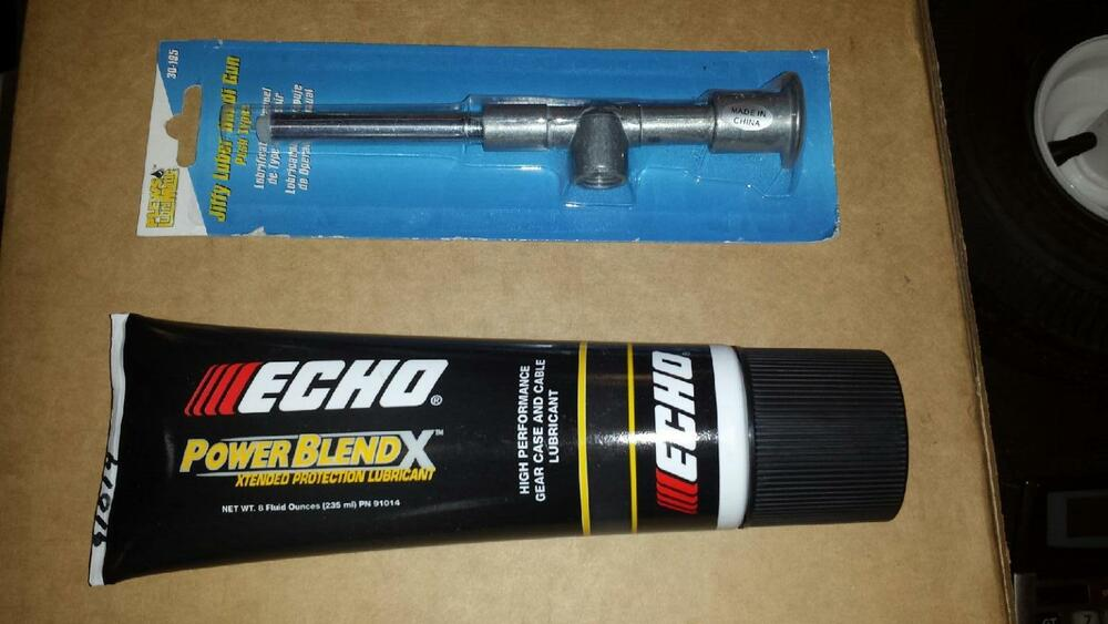 White Lithium Grease With Pump Auger Gear Trimmer Gear