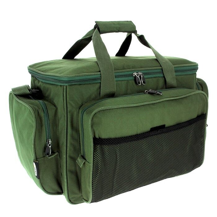 Carryall holdall tackle bag insulated carp fishing green for Insulated fish bag