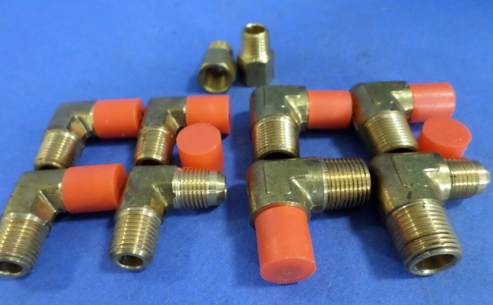 Hydraulic brass fittings assorted sizes lot of ebay