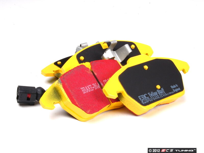 mazda rx8 1 3 front rear ebc yellowstuff brake pads ebay. Black Bedroom Furniture Sets. Home Design Ideas